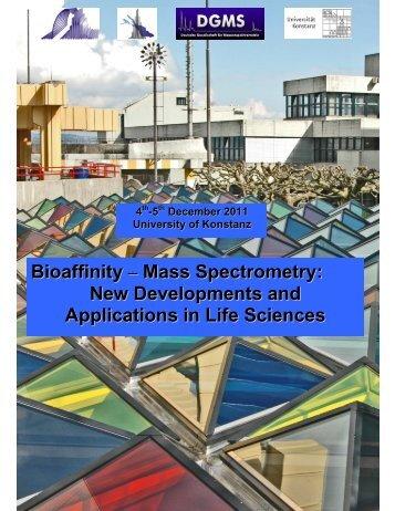 Bioaffinity – Mass Spectrometry: New Developments and ...