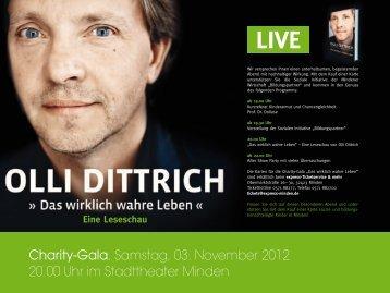 Olli Dittrich: Das wirklich wahre Leben - Stadttheater Minden