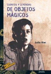 Cuentos y leyendas de objetos mágicos (primeras páginas)