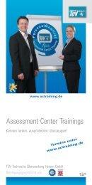Informationsbroschüre Assessment Center ... - Staufenbiel.de