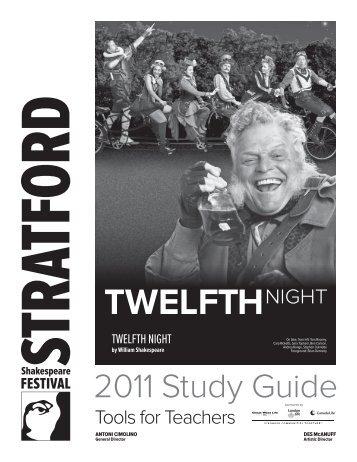 Twelfth Night Study Guide - Stratford Festival