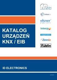 KATALOG URZĄDZEŃ KNX / EIB - ID Electronics Sp. z oo