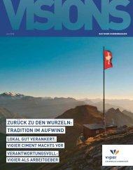ZURÜCK ZU DEN WURZELN: TRADITION IM ... - Ciments Vigier SA