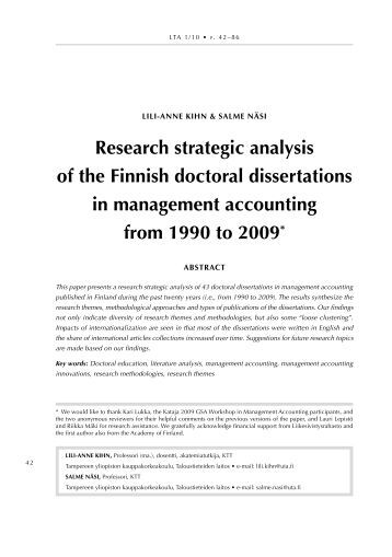 Doctoral dissertation research nsf