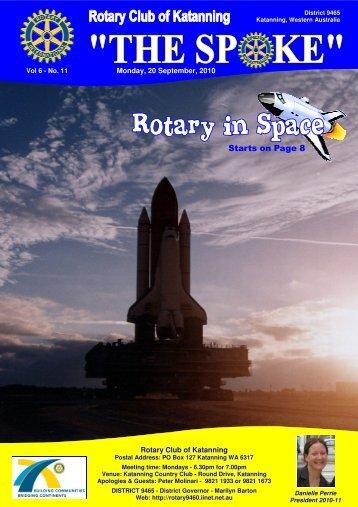 Vol 6-11-Sept 20 - Katanning Rotary Club
