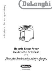 Electric Deep Fryer Elektrische Fritteuse F26 - BuySpares.co.uk