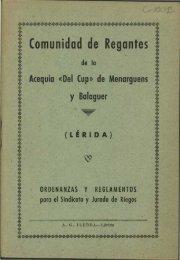 ** Comunidad de Regantes 1 : - Sol-Torres