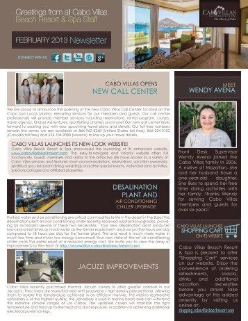 NEW CALL CENTER - Cabo Villas Beach Resort