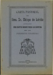 CARTA PASTORAL - Sol-Torres