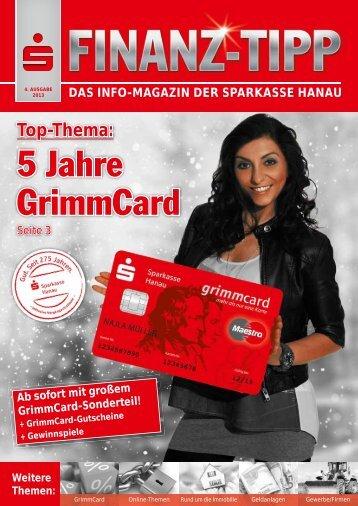 S-Finanz-Tipp Dezember 2013 - Sparkasse Hanau