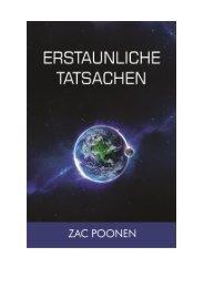 Erstaunliche Tatsachen - Zac Poonen