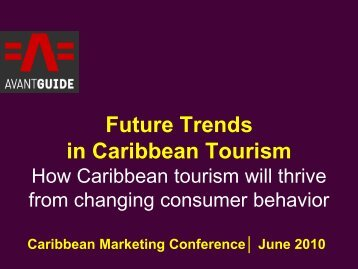 Future Trends in Caribbean Tourism