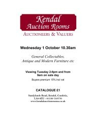 Wednesday 1 October 10.30am General ... - 1818 Auctioneers