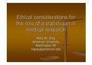 Ethical Considerations Ottawa - American University