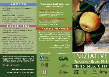 Iniziative primavera - estate 2013.pdf - AnconaCultura