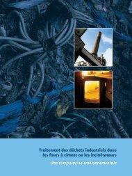 Le traitement des déchets industriels dans les - Febelcem