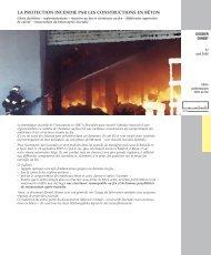 la protection incendie par les constructions en béton - Febelcem