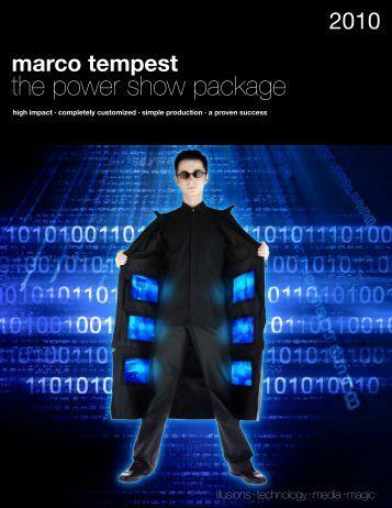 marco tempest - Concept Artists