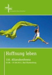 Hoffnung leben - Evangelisches Allianzhaus