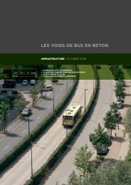 les voies de bus en béton - EUPAVE