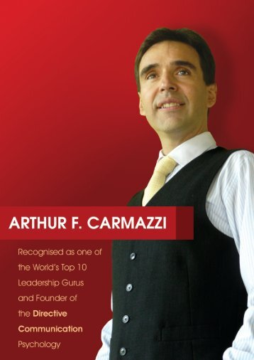 Arthur F. Carmazzi - Directive Communication International