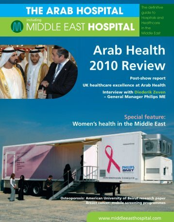Layout 2 - Middle East Hospital Magazine