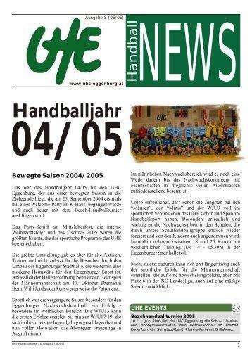 UHE Handball News #08 - hoststar