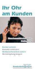 Kundenzufriedenheits-Befragungen: Ihr Ohr am Kunden