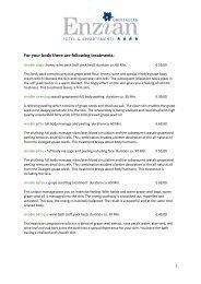 Behandlungen Internet 08 Preise engl