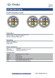 Product Specifications - Minitran