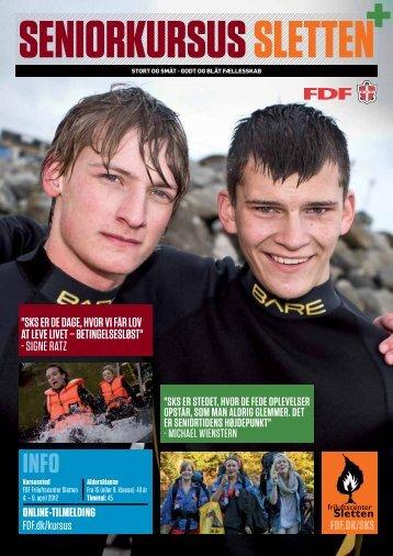 Seniorkursus Sletten forår 2012 - Leder - FDF