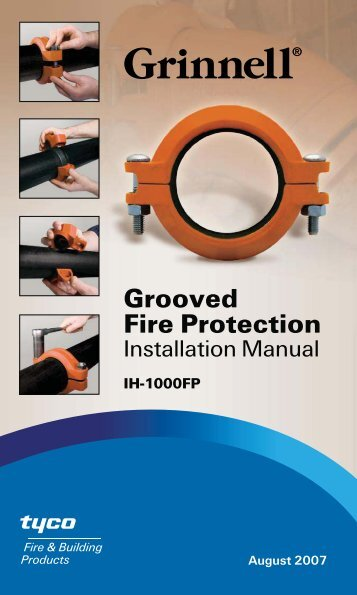GRINNELL Fire Protection Products Installation Handbook IH ... - sbs