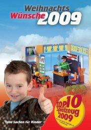 Magazin 2009 - TOP 10 Spielzeug