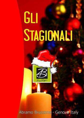 Catalogo Linea GLI STAGIONALI - Abramo Bruzzone