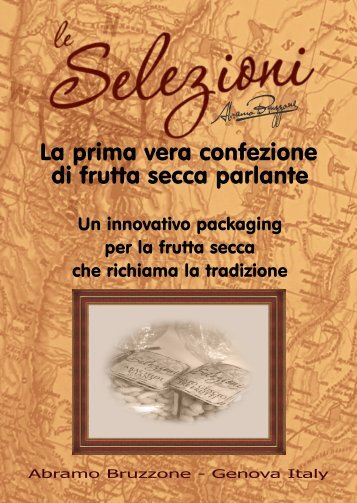 Catalogo Linea LE SELEZIONI - Abramo Bruzzone
