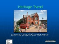 Heritage Travel - Cultural Heritage Tourism Alliance