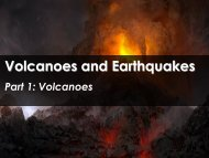 Volcanoes and Earthquakes - Science with Mr. Enns