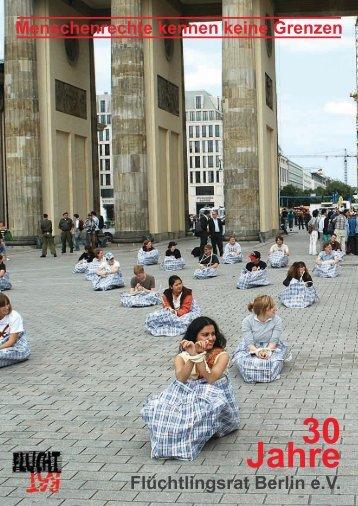 30 Jahre Flüchtlingsrat Berlin