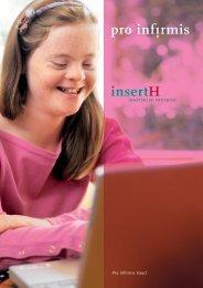 Brochure InsertH - Pro Infirmis