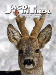 Zeitschrift des Tiroler Jägerverbandes Februar 2013 • Jahrgang 65 ...