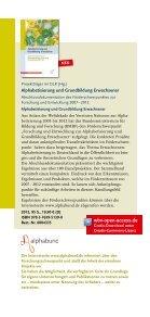Alphabetisierung und Grundbildung - W. Bertelsmann Verlag - Seite 2