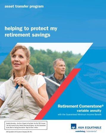 helping to protect my retirement savings - AXA Equitable