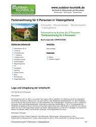 Ferienwohnung für 5 Personen in Västergötland - Outdoor-Touristik