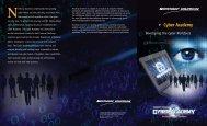 t Cyber Academy - Northrop Grumman Corporation