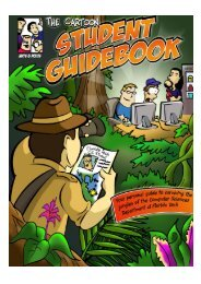 Cartoon Student Guidebook (pdf) - Florida Tech Department of ...