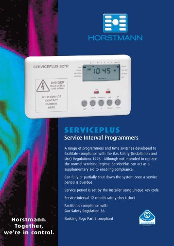 ServicePluS - Gas Appliance Guide