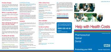439205dd3cf NHS Help with Health Costs NHSBSA - induced.info