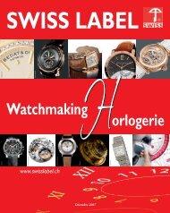 SWISS LABEL INDUS HORLOGERE -XP - Com Consulting SA