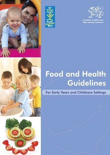 Food and Health Guidelines - Torfaen Family Information Service