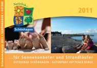 Urlaubsmagazin 2011 - Urlaub in Schleswig-Holstein